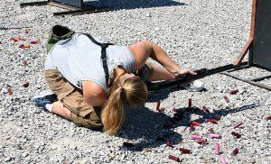 farley burke demonstrates modified prone tactical shotgun green valley rifle & pistol club hallsville missouri tactical shotgun