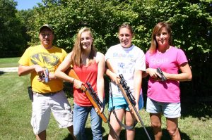 Cathy Atkins family with Tactical Training Specialties Todd Burke Hallsville Missouri