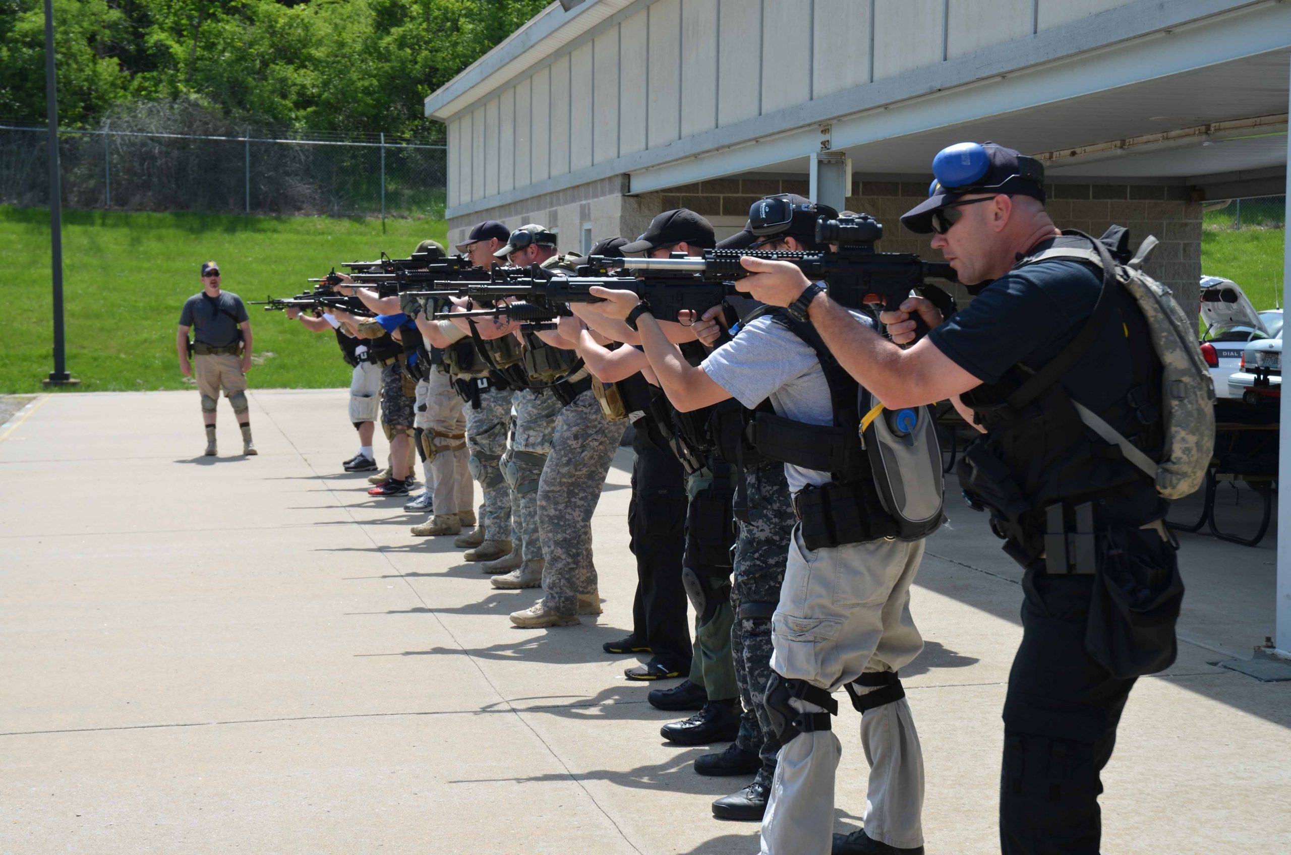Tactical rifle Todd Burke Tactical Specialties Firearms courses