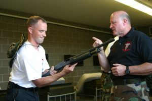 Todd Burke Tactical EMS School Camp Ripley Minnesota firearms familiarization