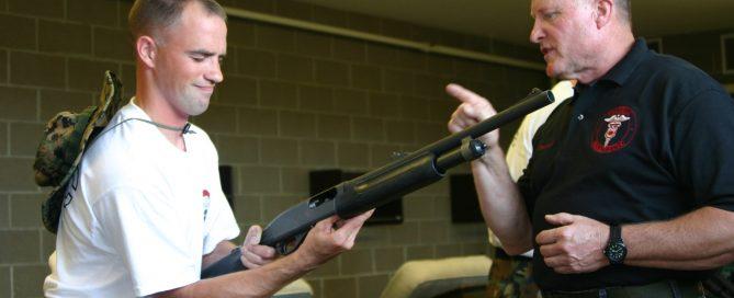 Todd Burke Tactical EMS School Camp Ripley Minnesota firearms familiarization