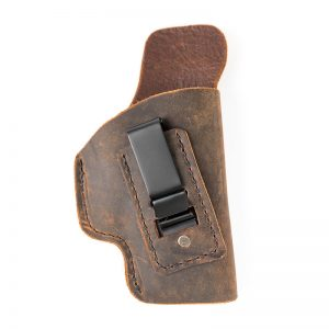 example of poor holster with no retention features Todd Burke Tactical Training Specialties inside the pants holster for micro pistols