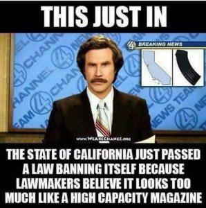 california bans itself high capacity magazines