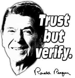 Regan trust but verify