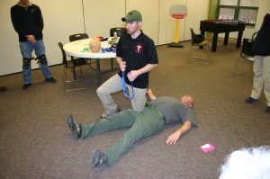 crisis casualty care tactical training specialties CAT tourniquet Todd Burke and Greg Delo
